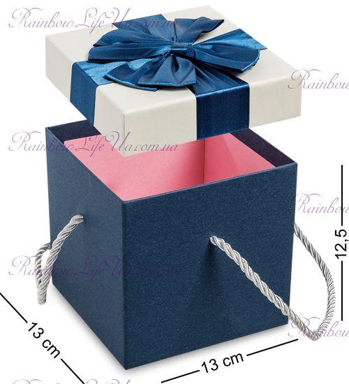 """Коробка подарочная с ручками """"Бантик"""""""