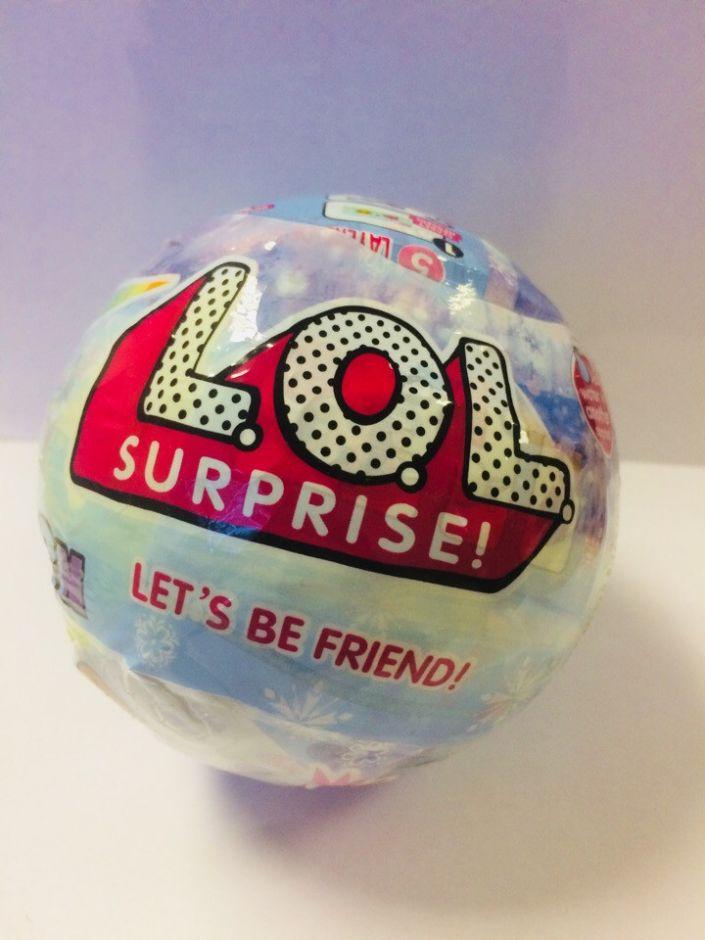 Кукла LOL Лол в шарике арт:86015