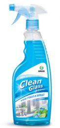 Clean Glass блеск стекол и зеркал голубая лагуна  600мл, купить в Челябинске| Очиститель стекол и зеркал GRASS
