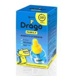 Средство инсектицидное Жидкость от комаров Drago 30мл купить в Челябинске, цена