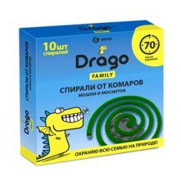 Средство инсектицидное спираль от комаров – эффект Drago (10 спиралей) купить в Челябинске, цена