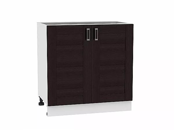 Шкаф нижний Лофт Н800 (Wenge Veralinga)