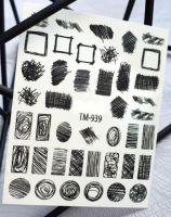 Слайдер-дизайн «Цветы» TM - 939 Dream Nails (водные наклейки)
