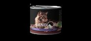LANDOR Senior Cat Calf and Herring Консерва для пожилых кошек с телятиной и сельдью, 200 гр