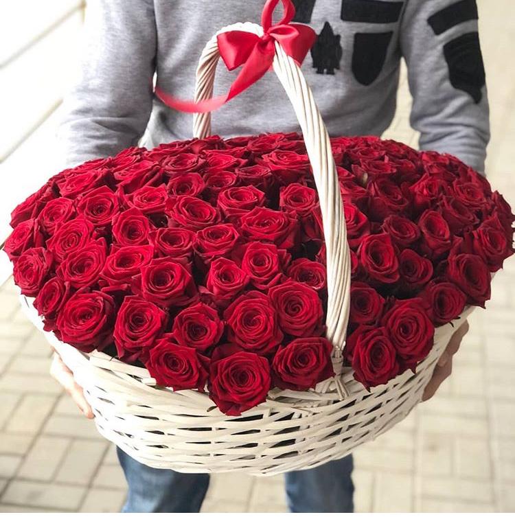 Корзина 151 роза