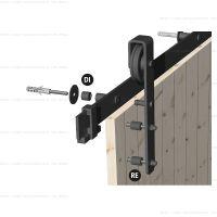 Комплект 5 дистанционных втулок ROC DESIGN для дверей