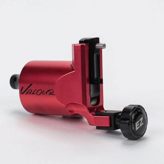 EZ Valour Rotary Tattoo Machine - Red