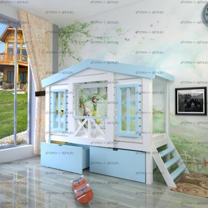Кровать Домик Calipso Factory №16