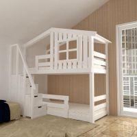 Кровать двухъярусная Домик Factory №26
