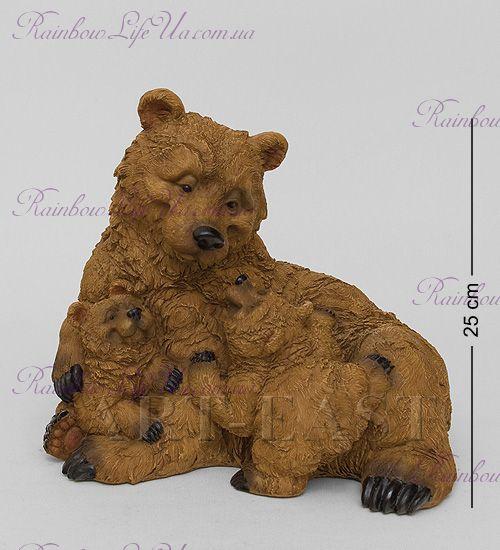 "Фигурка медвежата счастливое семейство ""Sealmark"""
