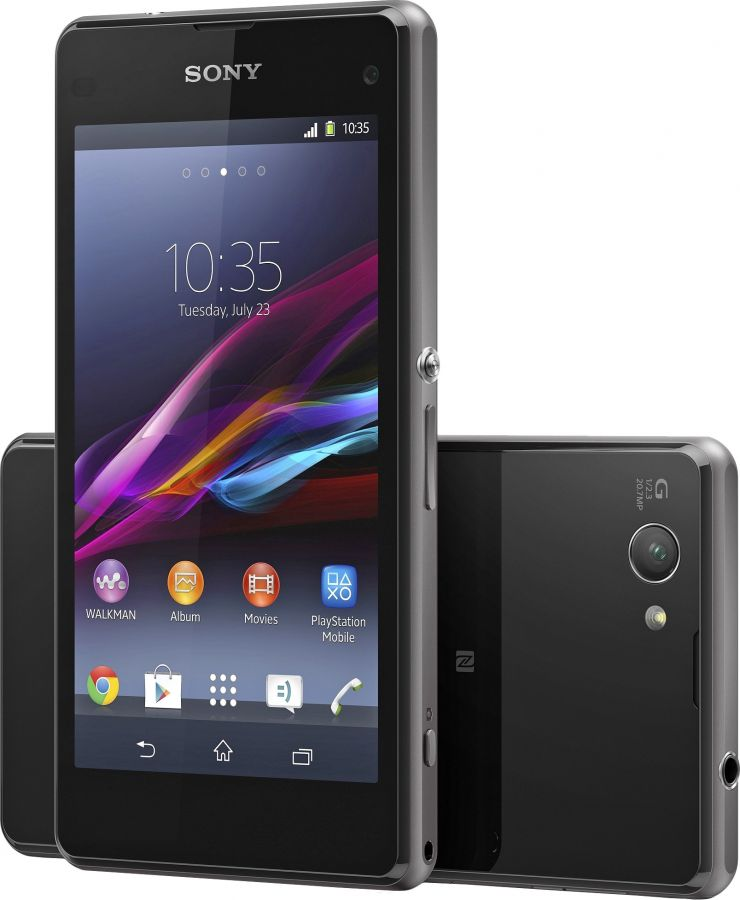 Смартфон Sony Xperia Z1 Compact (D5503) Black