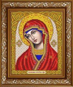 ИС-4019 Славяночка. Пресвятая Богородица Огневидная. А4 (набор 825 рублей)
