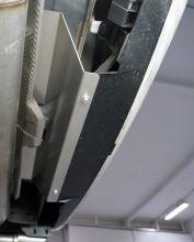 Защита края заднего бампера, ТСС, алюминий 4мм