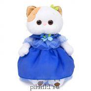 Кошечка Ли-Ли в синем платье 24 см