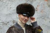 Женский картуз шапка из соболя купить в Москве цена фото