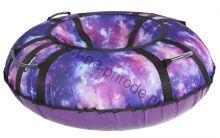 Тюбинг Hubster Люкс Pro Галактика 80 см