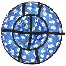 Тюбинг Hubster Люкс Pro Мишки синие 110 см