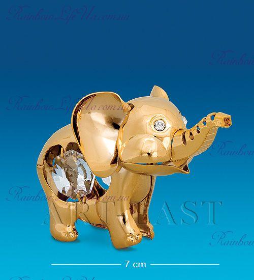 "Статуэтка слон с камнями ""Swarovski"""