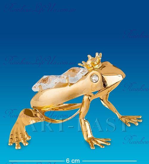 "Фигурка царевна лягушка с камнями ""Swarovski"""