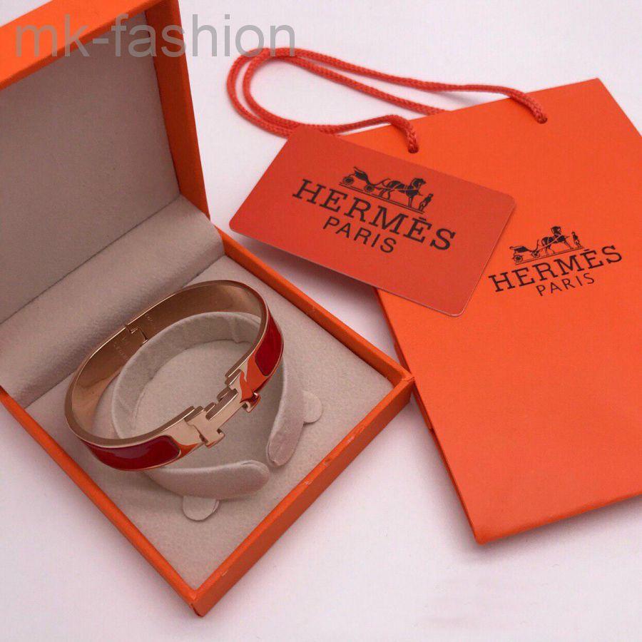 Hermes браслет Red