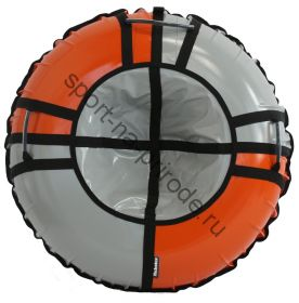 Тюбинг Hubster Sport Pro серый-оранжевый 120 см
