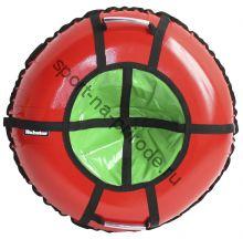 Тюбинг Hubster Ринг Pro красный-зеленый 120 см