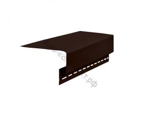 Околооконная планка ПВХ (3000мм) коричневый