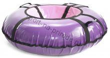 Тюбинг Hubster Ринг Pro фиолетовый-розовый 90 см