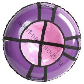 Тюбинг Hubster Ринг Pro фиолетовый-розовый 120 см