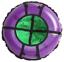 Тюбинг Hubster Ринг Pro фиолетовый-зеленый 120 см