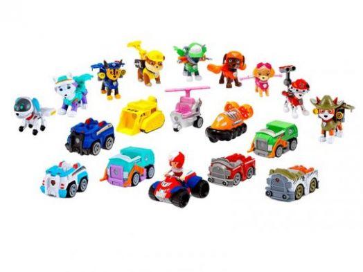 Команда щенков–спасателей (10 героев) + Машинки