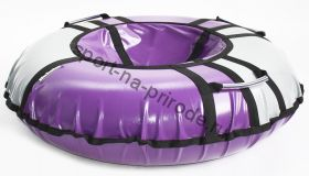 Тюбинг Hubster Sport Pro фиолетовый-серый 80 см