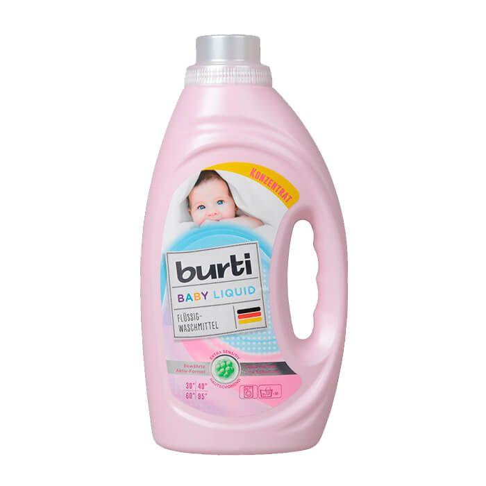 Burti Baby Liquid Универсальное жидкое средство для стирки Детского белья,1.45 л
