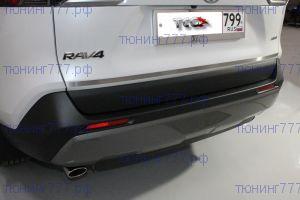 Накладка на крышку багажника, ТСС, матовая сталь