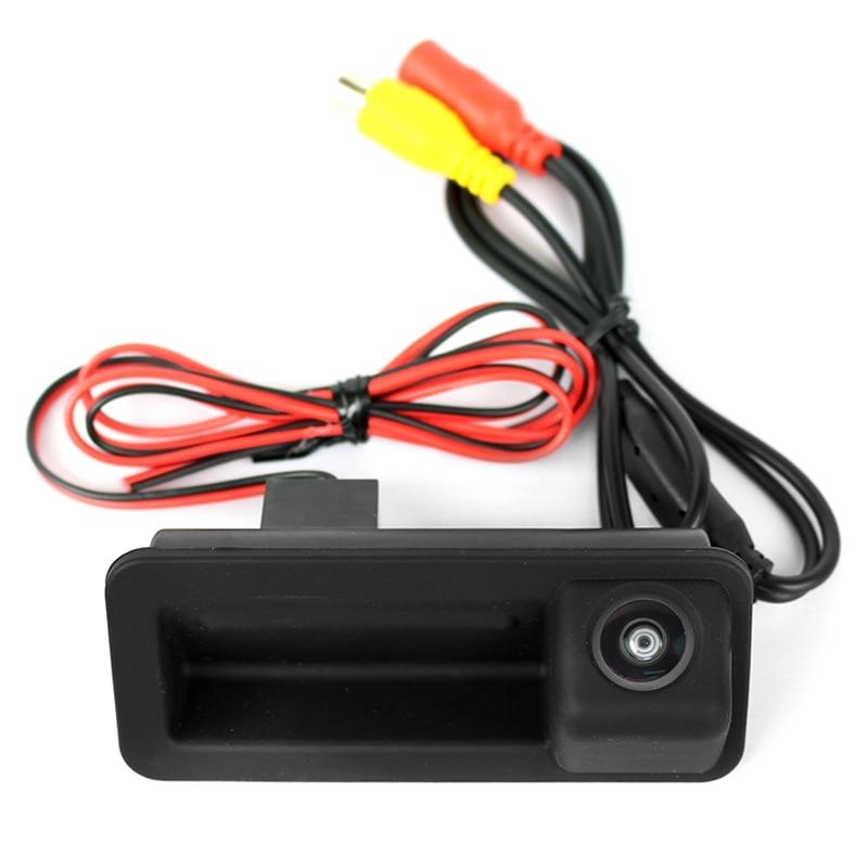 Камера заднего вида Форд Фокус 2 Хэтчбек в ручку багажника