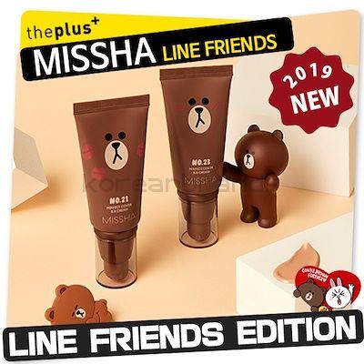 MISSHA PERFECT COVER BB CREAM 21, 23 [LINE FRIENDS EDITION]