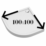 Душевая кабина 100x100
