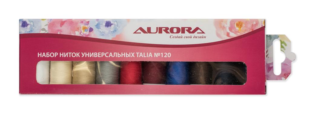 Набор швейных ниток AURORA арт. AU-1201
