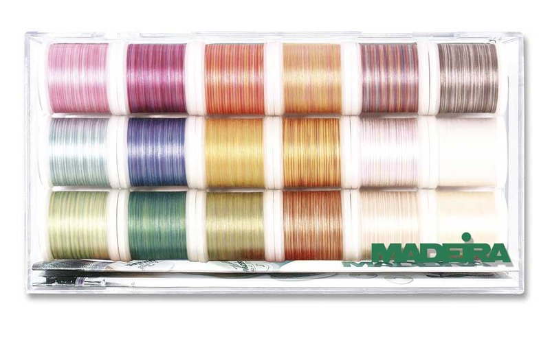 Набор ниток Madeira Cotona №50(18х200м) арт. 8035