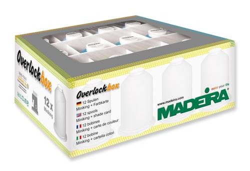 Набор оверлочных ниток Madeira Overlockbox 3+1 арт. 9201