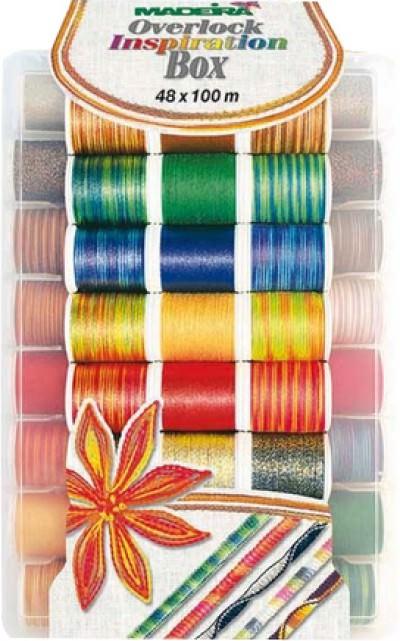 Набор оверлочных ниток Madeira арт. 8048