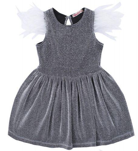 """Платье для девочки Bonito """"Festivity"""" серебристое"""