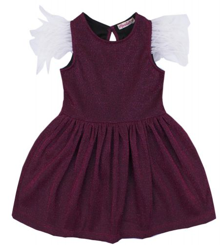 """Платье для девочки Bonito """"Festivity"""" малиновое"""
