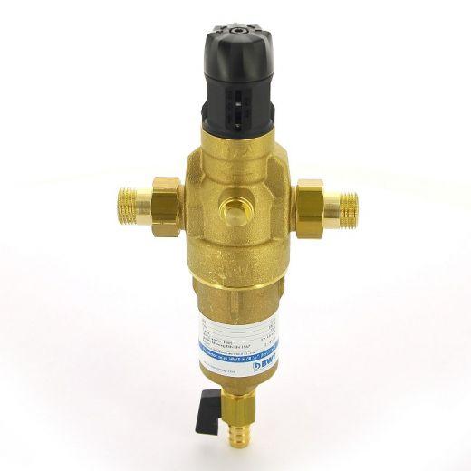 """Фильтр промывной BWT Protector mini HWS 1/2"""" 100 мкм латунная колба"""