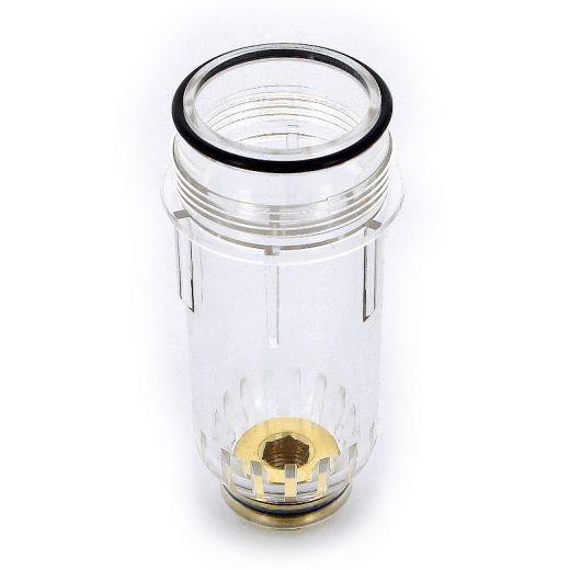 Колба пластиковая для фильтра с манометром TIEMME 1'1/4-1