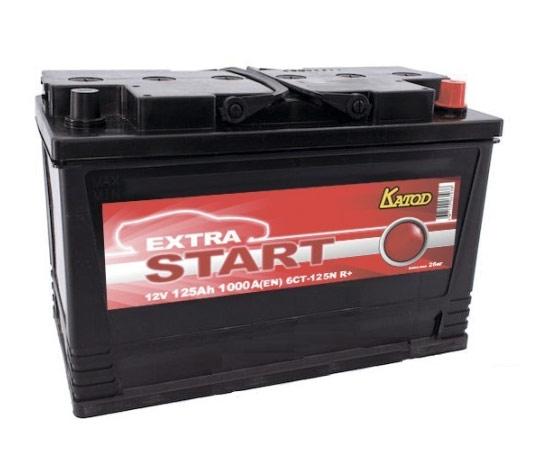 Автомобильный аккумулятор АКБ Extra START (Экстра Старт) 6CT-125 125Ач о.п.