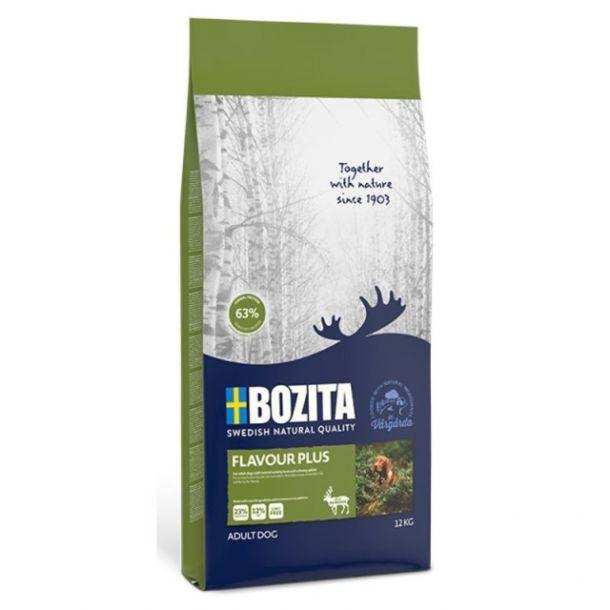 Корм сухой BOZITA NATURALES FLAVOUR PLUS для собак всех пород с олениной 3.5кг