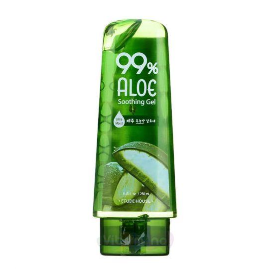 Etude House Универсальный гель с 99% содержанием экстракта сока алоэ вера 99% Aloe Soothing Gel, 250 мл