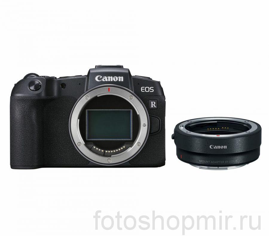 Canon EOS RP body + EF-EOS R адаптер