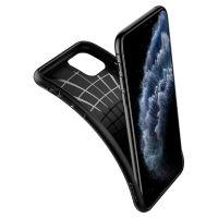 Купить оригинальный чехол Spigen Liquid Air для iPhone 11 Pro черный: купить недорого в Москве — выгодные цены на чехлы для айфон 11 Про в интернет-магазине «Elite-Case.ru»
